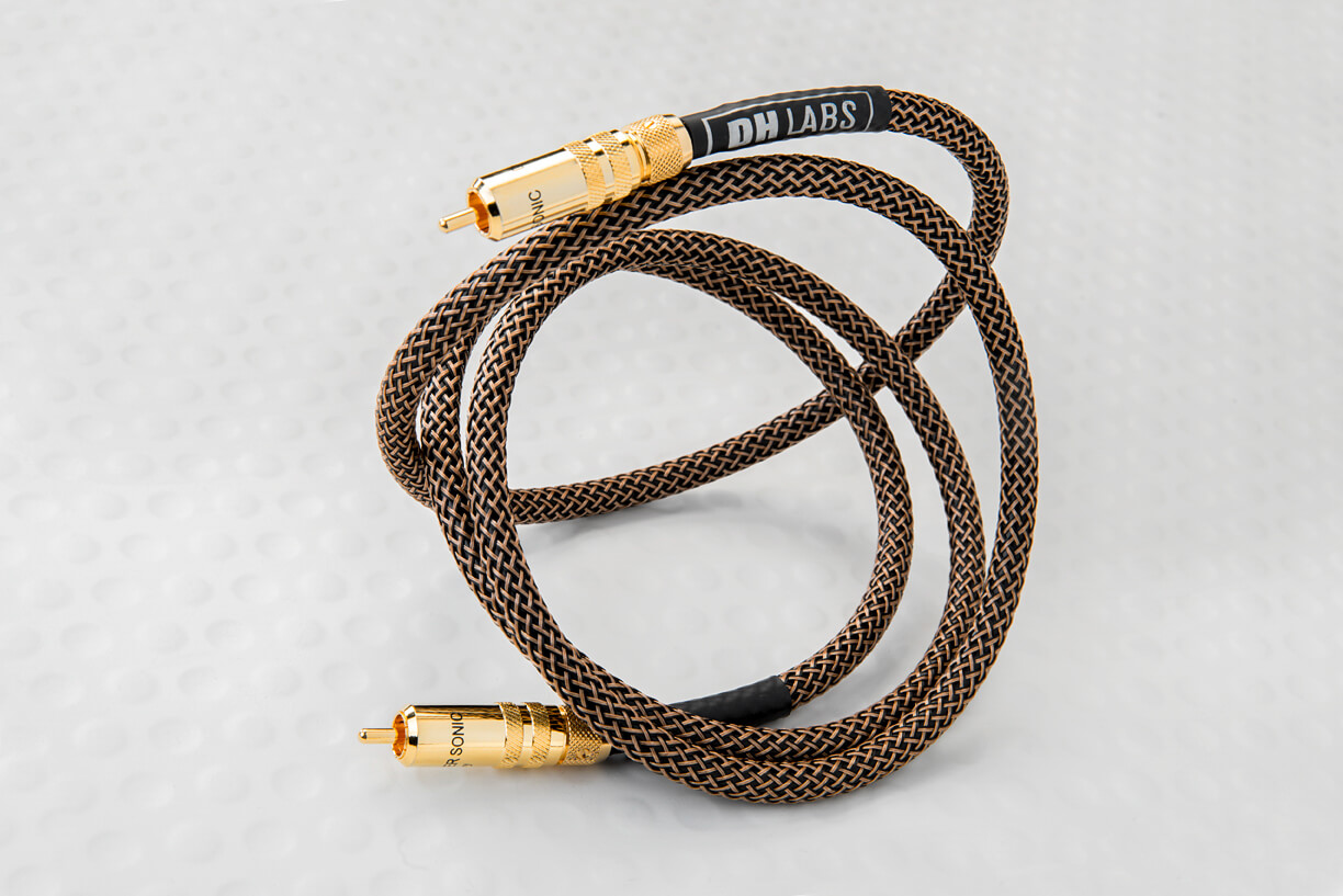 DH Labs Sub-Sonic II Subwoofer Audio Cable 2.5 Meters by Silversonic